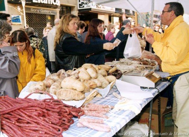 Manresa - Fira de Sant Andreu (Foto: Unió de Botiguers i Comerciants de Manresa)