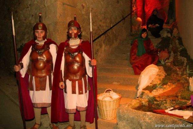Sant Quint� de Mediona - Pessebre Vivent (Foto: www.santquinti.net)