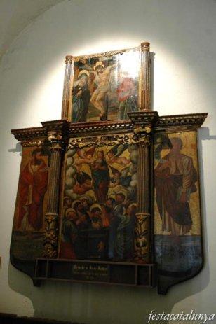 Cadaqués - Retaule església Santa Maria