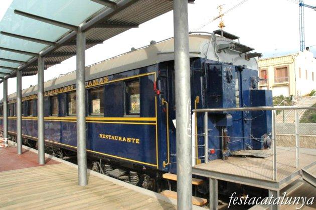 Callús - Vagó de tren Lisboa Paris