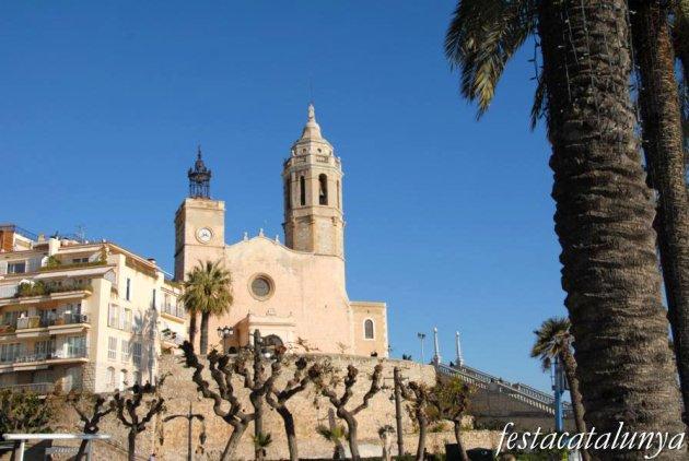 Sitges - Església parroquial de Sant Bartomeu i Santa Tecla