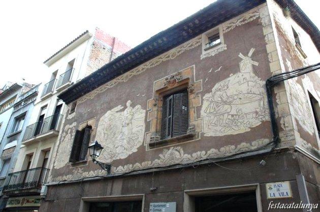 Martorell - Esgrafiats Casa Llopart