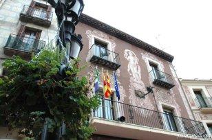 Martorell - Esgrafiats Casa de la Vila