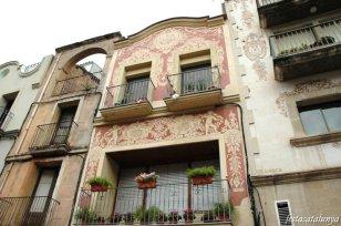 Martorell - Esgrafiats de Jaume Amat Plaça de la Vila, any 1996