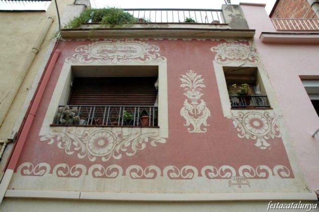 Martorell - Esgrafiats Carrer Sant Antoni