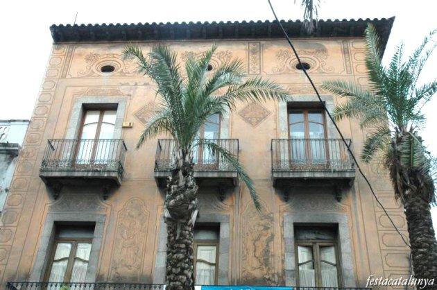 Martorell - Esgrafiats Casa Mestres