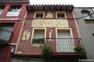 Martorell - Esgrafiats Carrer Sant Francesc