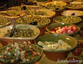 Manresa - Fira de l'Aixada, olives