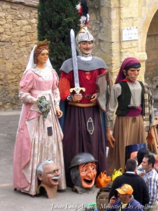 Os de Balaguer - Trobada de Campaners (Foto: Jaime Le�n Andr�s - Monestir de les Avellanes)