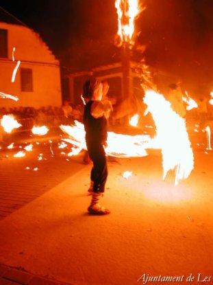 Les - Festa del Foc (Foto: Ajuntament de Les)