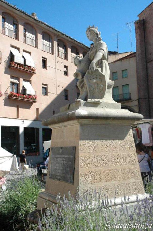 Cardona - Escultura d'en Campeny