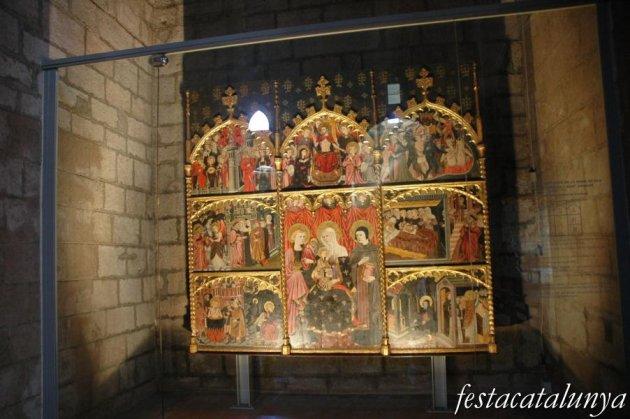 Cardona - Església parroquial de Sant Miquel, retaule de la Nativitat