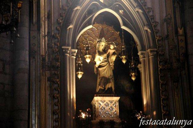 Cardona - Església parroquial de Sant Miquel, retaule de l'Esperit Sant