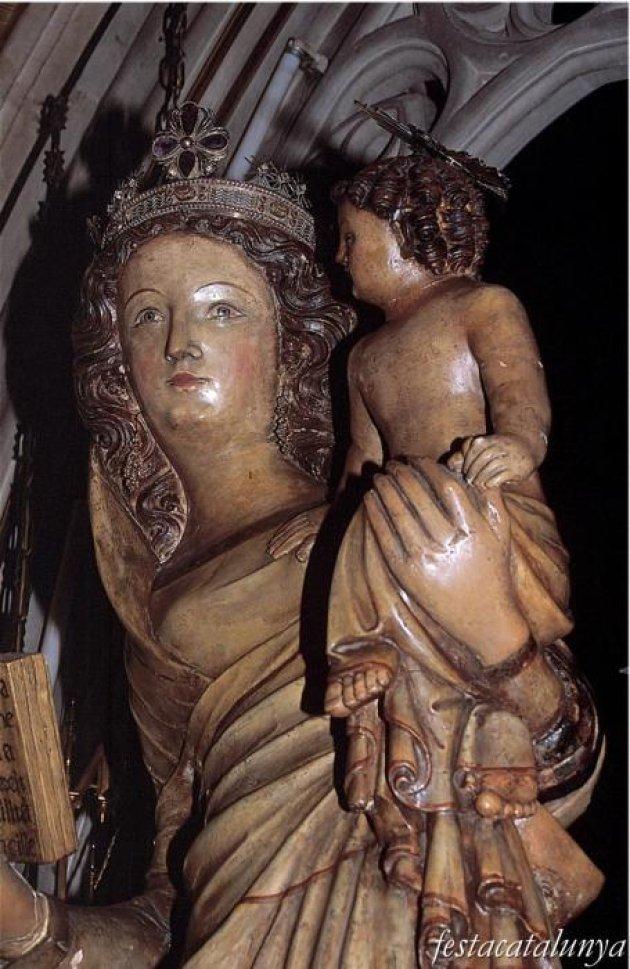 Cardona - Església parroquial de Sant Miquel, Verge del Patrocini