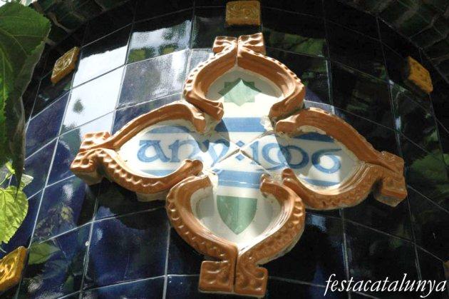 Sant Pere de Ribes - Font Modernista