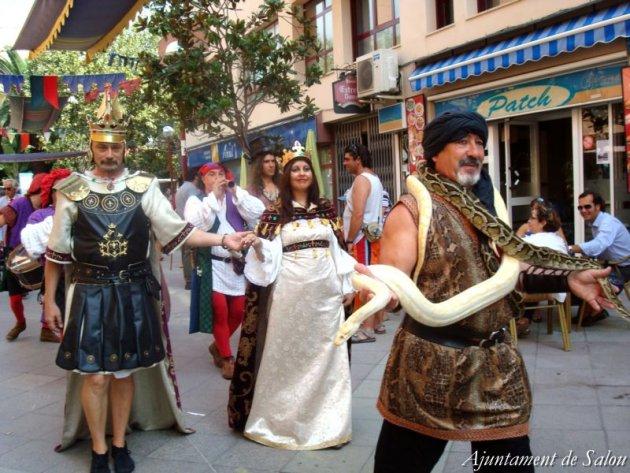 Salou - Festa del Rei Jaume I (Foto: Ajuntament de Salou)