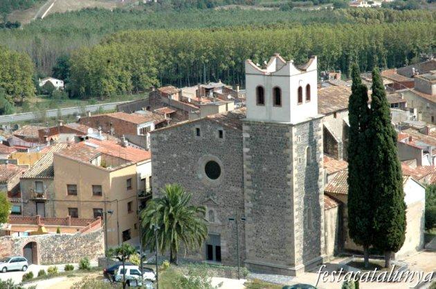 Hostalric - Església de Santa Maria