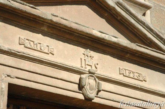 Torà - Ajuntament i antic hospital dels pobres