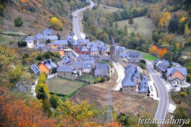 Vielha e Mijaran - Vista panoràmica del pòble d'Aubèrt