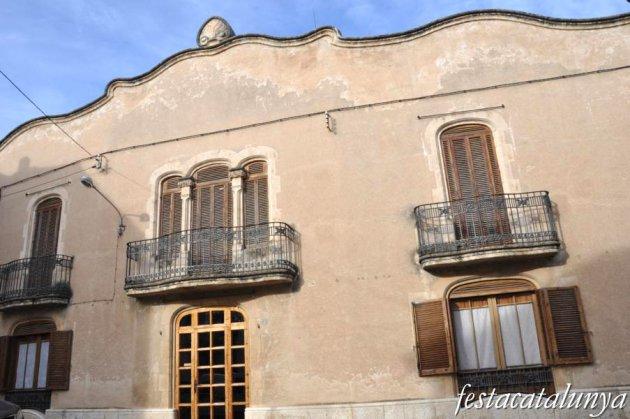 Pla del Penedès, El - Casa Vallès al nucli antic
