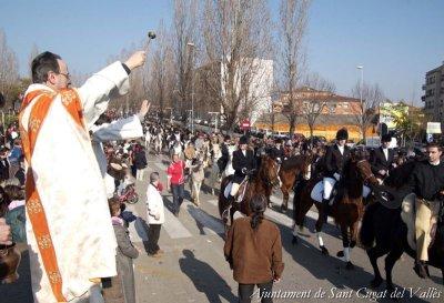 Sant Cugat del Vallès - Festa de Sant Antoni (Foto: Ajuntament de Sant Cugat del Vallès)