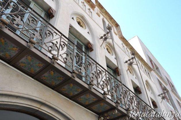Vilafranca del Penedès - Ruta Modernista - Cal Figarot
