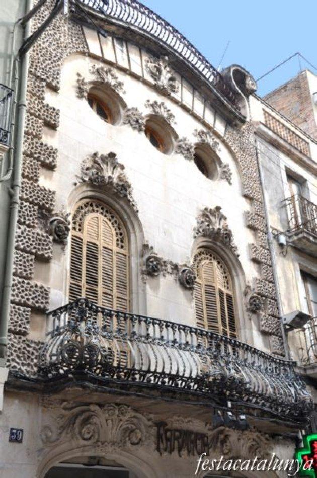 Vilafranca del Penedès - Ruta Modernista - Casa Guasch Estadella