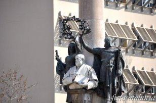 Vilafranca del Penedès - Monument Milà i Fontanals