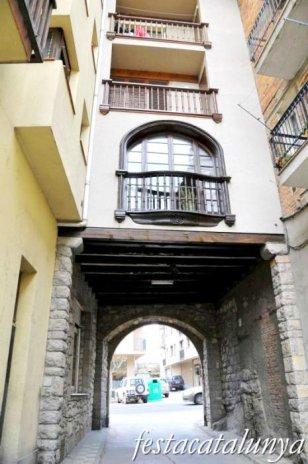 Organyà - Muralles, portal