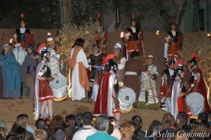 Sant Hilari Sacalm - Via Crucis Vivent (Foto: La Selva Comunica)