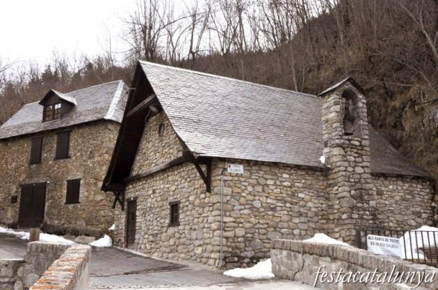 Tredòs (Naut Aran) - Capella de la Verge del Roser