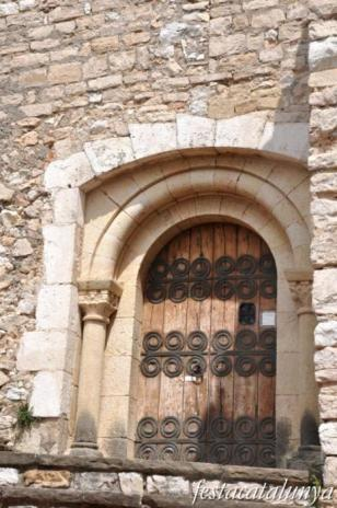 Subirats - Església de Sant Pere del castell de Subirats o Santuari de Ntra. Sra. de la Font Santa