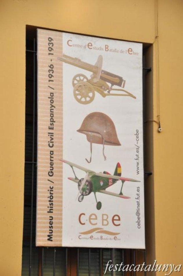 Gandesa - Museu d'història de la guerra civil espanyola