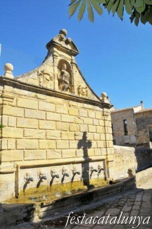 Santa Coloma de Queralt - Font de les Canelles o dels Comtes