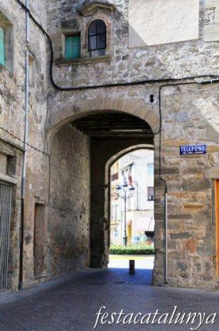 Santa Coloma de Queralt - Portal de Santa Coloma