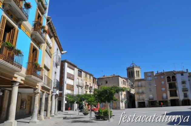 Santa Coloma de Queralt - Nucli antic (Plaça Major)