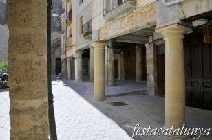 Santa Coloma de Queralt - Nucli antic (Plaça d'Avall o de l'Església)