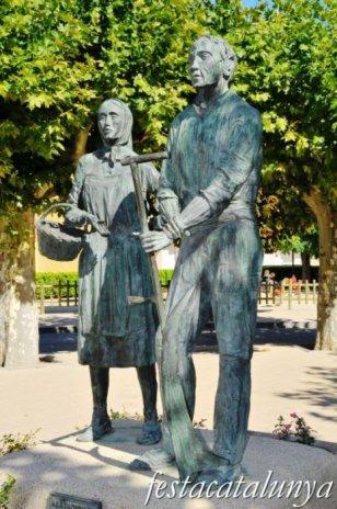 Santa Coloma de Queralt - Monument a la pagesia
