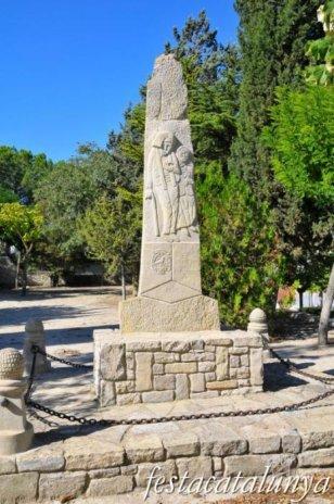 Santa Coloma de Queralt - Monument a la vellesa