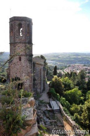 Gelida - Església de Sant Pere del castell