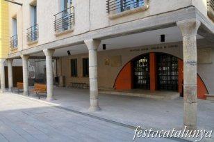 Tàrrega - Porxos plaça Sant Antoni