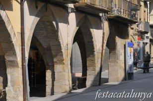 Tàrrega - Porxos plaça Santa Anna