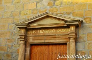 Tàrrega - Església parroquial de Sant Salvador (Claravalls)
