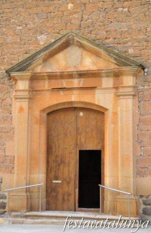 Tàrrega - Església parroquial del Sant nom de Maria (Santa Mª de Montmagastrell)