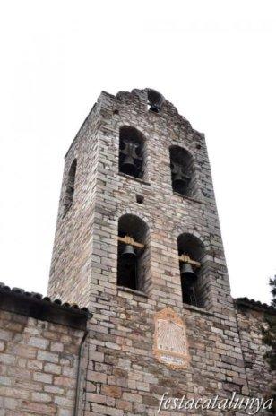 Castellar de n'Hug - Església parroquial de Santa Maria