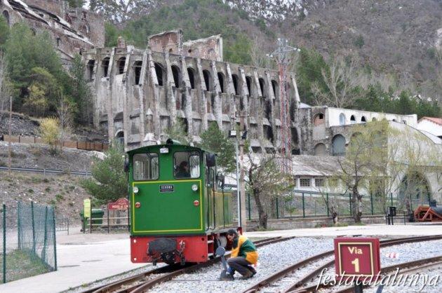 Castellar de n'Hug - Tren del ciment