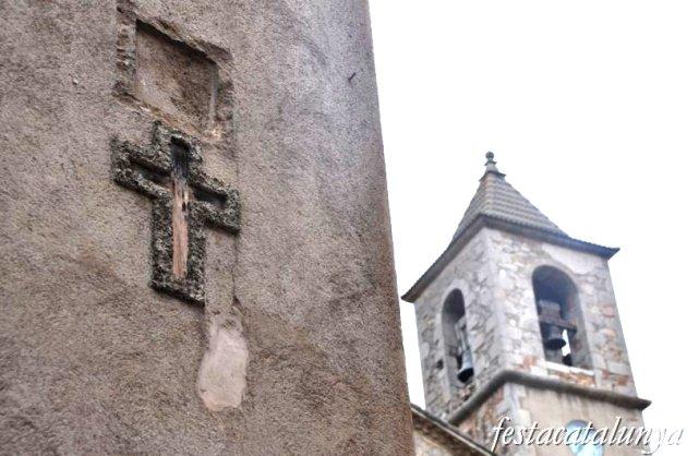 Gombrèn - Església parroquial de Sant Pere