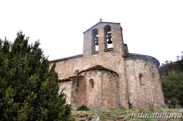Gombrèn - Església romànica de Sant Pere de Montgrony