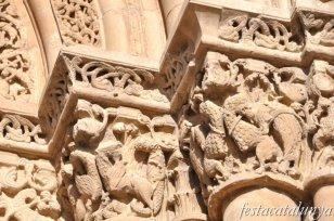 Lleida - Santa Maria de Lleida o la Seu Vella (Portada Anunciata)