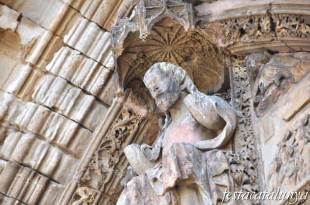 Lleida - Santa Maria de Lleida o la Seu Vella (Portada dels Apòstols)